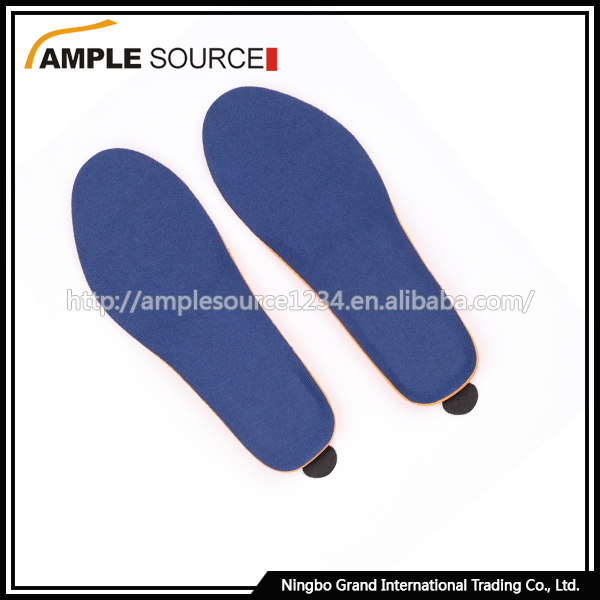 Heated vibrating insoles battery heated insoles , insole for winter sport
