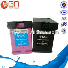 Remanufactured ink cartridge 61 for hp Deskjet 2050 3050