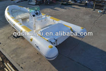 CE certificate 7.3m fiberglass hull boat for sale