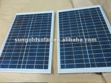 190W Solar panel,Poly solar PV for on grid installation