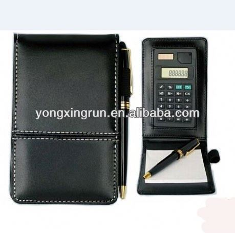 new product Notepad With Calculator Pen