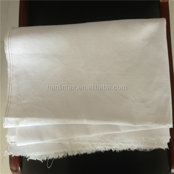 TC-200 White Cotton Plain Hotel Bedding Set Fabric