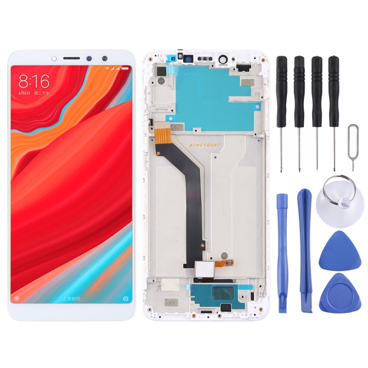 LCD Screen and Digitizer Full Assembly with Frame for Xiaomi Redmi S2 / <strong>Y2</strong>