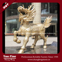 Outdoor Decorative Casting Bronze Chinese Dragon Statue
