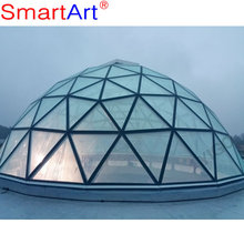 glass roof dome price for building glass roof skylight glass