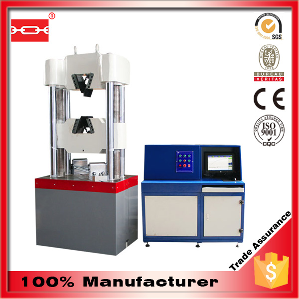 Hydraulic Motor Material Tension And Bending Testing Machine