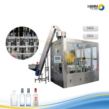Full automatic water bottle washing filling capping machine water refilling machine price with linear type