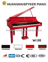 HUANGMA HD-W100 red digital grand piano for kids musical organ
