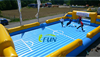 inflatable foosball pitch 2015/inflatable football pitch/inflatable soccer arena