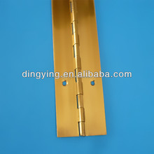 brass piano hinges continuous long piano hinge