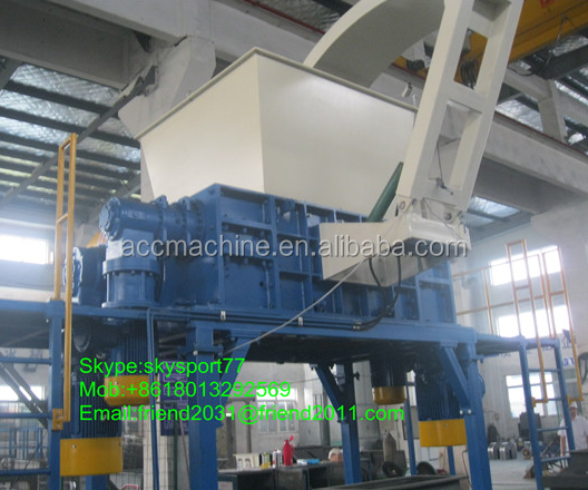 Tire Recycling Shredder / Shredder Machine / Plastic Recycling Machine