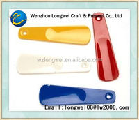 colored plastic shoe horn/shoe helper/shoehorn shoe