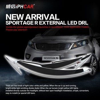2015 Waterproof led car daytime lights with swift led drl