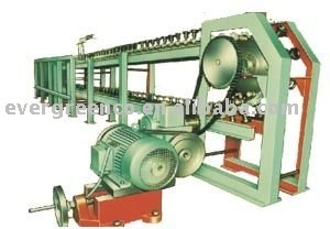 glassware polishing machine