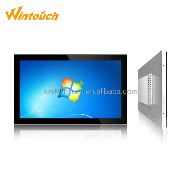 "21.5"" Industrial all in one computer cheap touch screen all-in-one pc 12v LCD display"