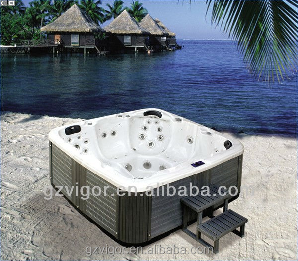 2015 unique family free sex usa massager bath hot tub,acrylic aboveground swimming pools