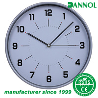 30cm ABS plastic modern wall clock cheap corporate gift items
