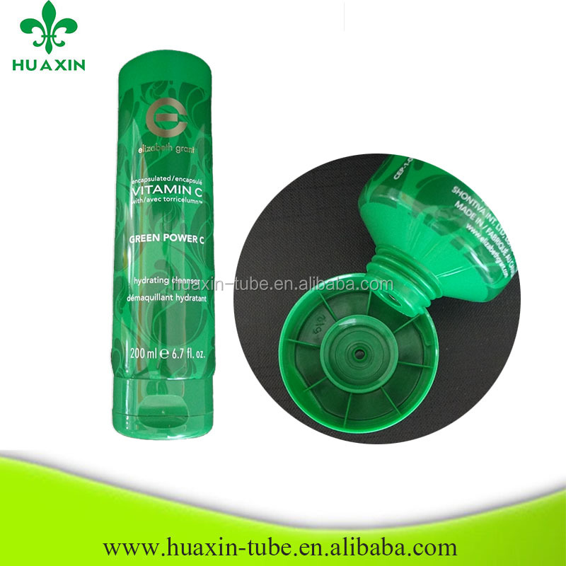 plastic dye tube packaging for hair extension 200ml
