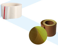 ptfe coated fiberglass tape with back release paper