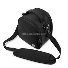 black canvas camera bag for dslr and digital camera