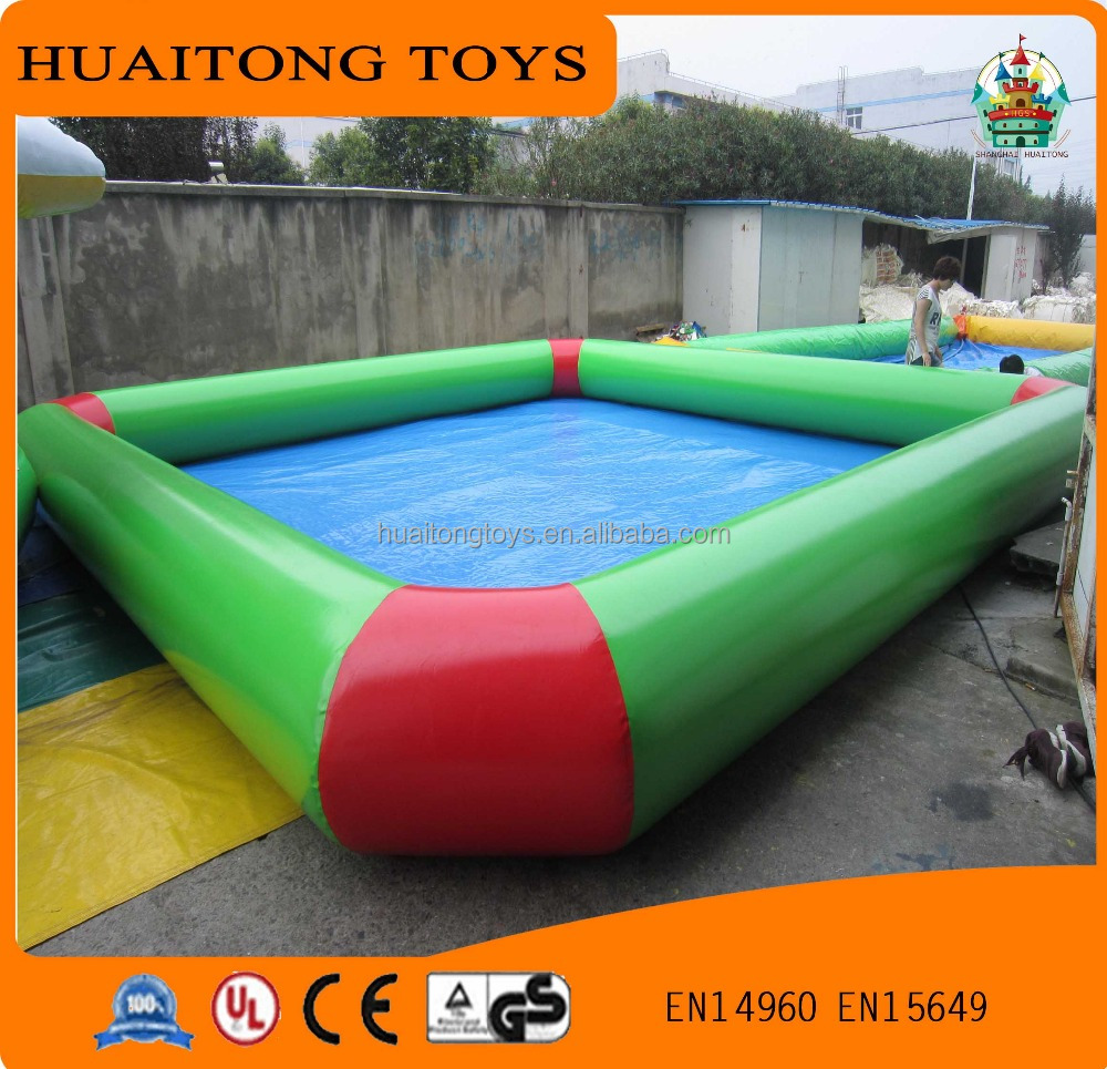 2016 Hot Big Floating Inflatable Boat Swimming Pool For Sale Large High Quality Swimming Pool