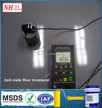 electrically conductive paint epoxy anti-static self-leveling floor coating