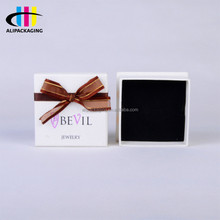 Custom Quality Handmade Bow Tie Paper Jewelry Box Cardboard Cap In Any Size and Print Your Own Logo