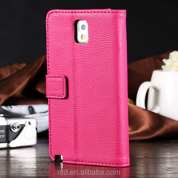 New PU Leather Case For Samsung Galaxy Note 3 N9000 Waterproof Cover For Samsung Note 3 Phone Case For Galaxy N9000 RCD03214