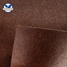 Suede microfiber leather for make shoes, artificial leather