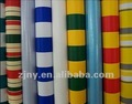 striated color covering water proof tarpaulin