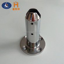 High quality stainless steel swimming pool fence round glass clamp