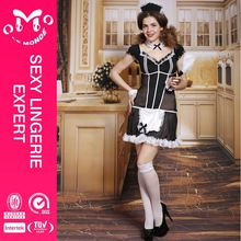 Cheap price hot factory supply sexy xxl maid costumes