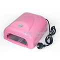 36W UV Lamp Nail Art Gel Curing Tube Light Dryer with Timer Function