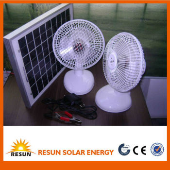 Latest model solar fan 12v DC solar fan