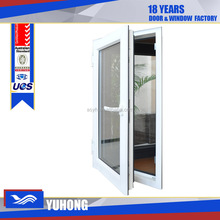 upvc window company triple glass casement window