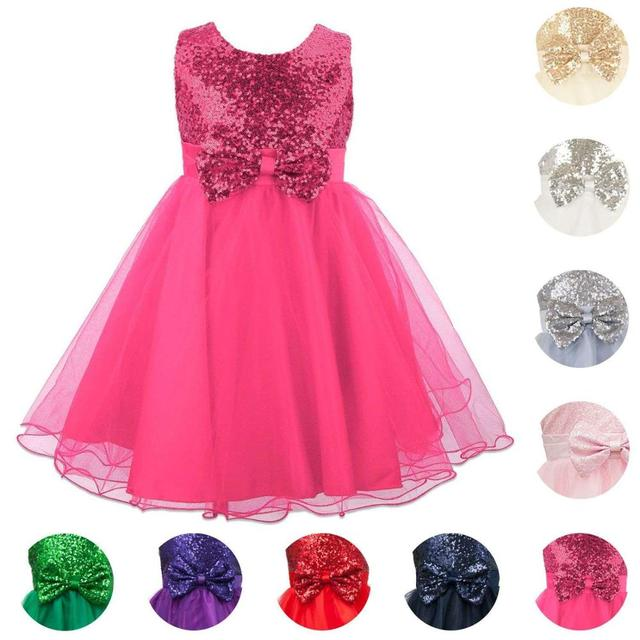 Children clothes Girls Bridesmaid Dress