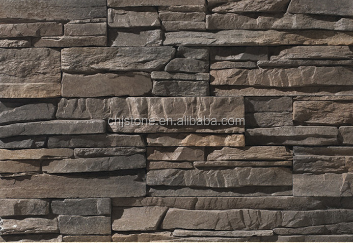 Fireproof rustic color artificial cement stone