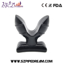 Soft Silicone V Port Anal Plug Medical Themed Opening Butt Plug Anal Speculum Prostate Massage for Men & Woman