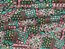 High quality vintage style print fabric