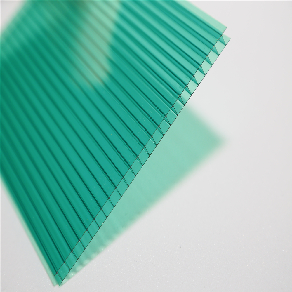Factory direct plastic polycarbonate greenhouse solar roof panel