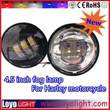 LOYO HOT SALE 4.5'' 1440LM 30W Motorcycle LED Driving Light 4.5 inch Daytime Running Light LED Front Lamp Fog Light for Harley
