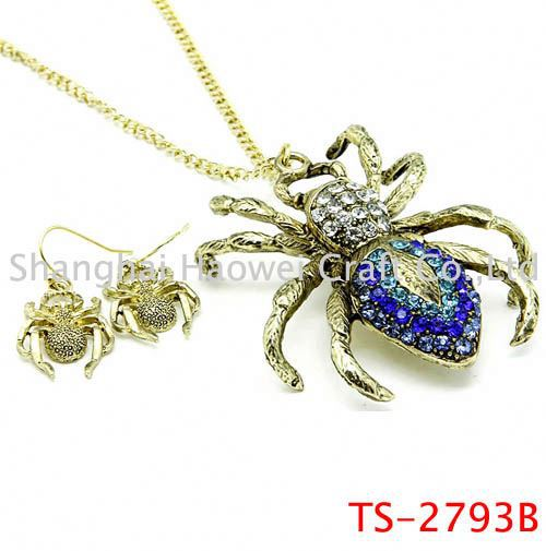 TS-2793B Main product top quality wedding cz zircon jewelry set made in china