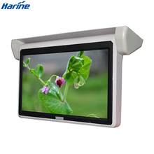 18.5 inch bus flip down roof mounted monitor dengan AV, VGA HDMI input