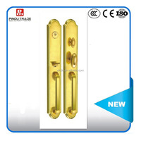golden double special door lock