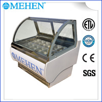 Gelato Ice Cream Display Freezer (MC16)