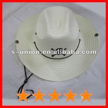 Promotional cheap cowboy hats with printed skull(SU-SH3452)