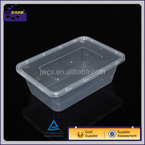 plastic food grade sealable microwavable food container bento lunch box