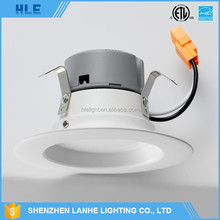 "3""/4""/6""IP44 SMD/COB LED recessed downlight CCT3000/4000/6000K Dimmable 10 watt"