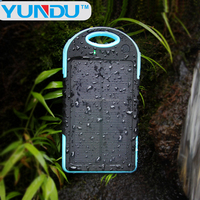 Waterproof 2015 New Products Arrival Power Bank 12000mah Mobile Portable dustproof Solar Charger