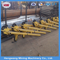 Drilling Machine with Hydraulic Lifting Drill Tower